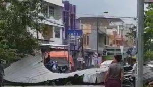 Sejumlah Atap Rumah Warga Rusak Di Sidrap Akibat Angin Kencang
