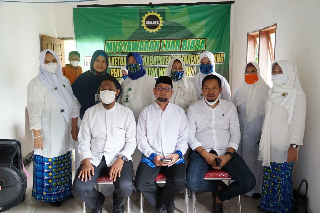 Muslub BKMT Sidrap Secara Aklamasi Tetapkan H. Bachtiar Sebagai Ketua