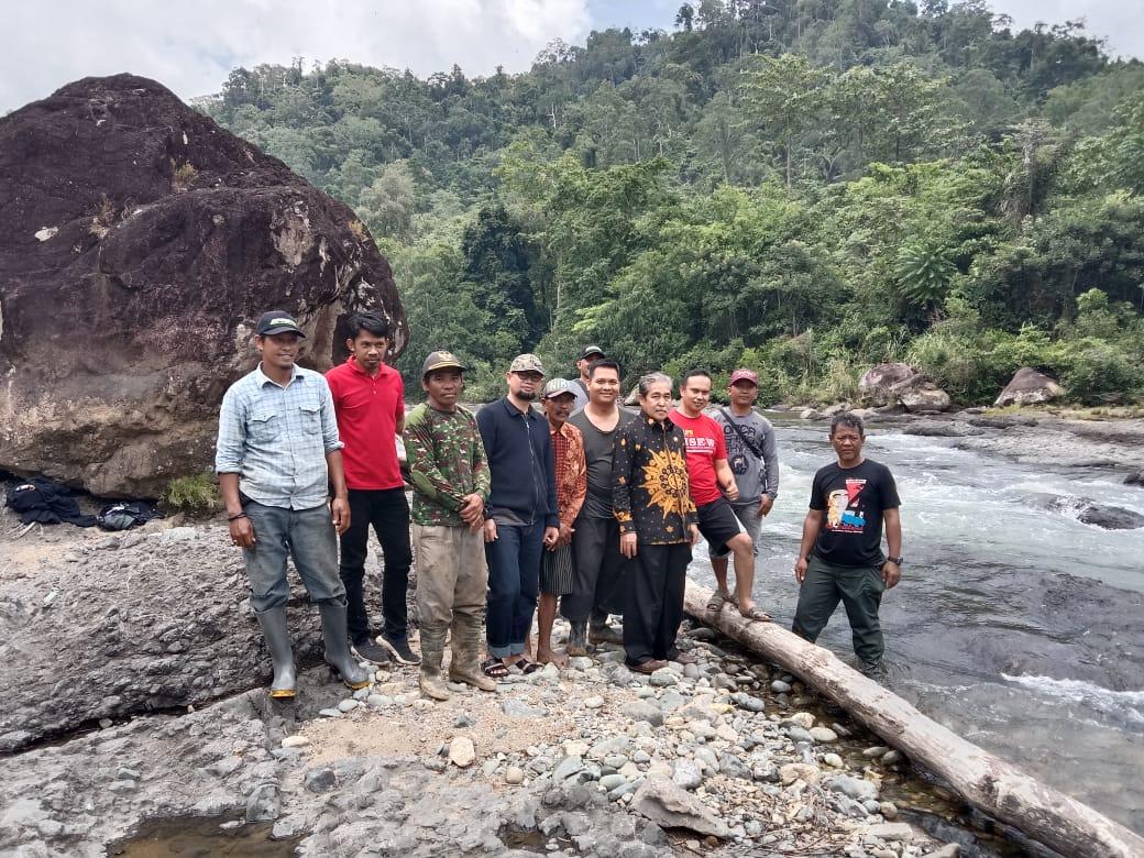 Bupati Sidrap Minta Wisata Arum Jeram Desa Lombok Segera Dipasang Gazebo