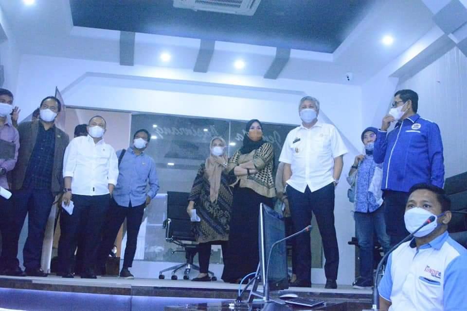Bupati Pinrang Terima Kunjungan Ketua dan Anggota Banggar DPRD Provinsi Sulsel